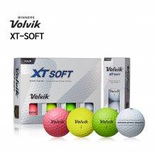 [볼빅] XT-SOFT 엑스티소프트 골프공 (3피스/12알) 화이트볼/컬러볼