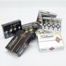 타이틀리스트/ (19)PRO V1, V1X 골프볼 (3PCS) (19 V1 3PCS-화이트)