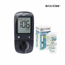 액티브 혈당계+시험지 110매+침100개+솜100매
