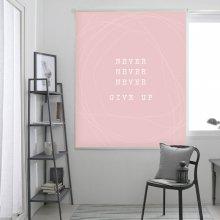 네버-핑크 롤스크린 (R1380) 일반사이즈