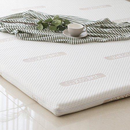 코자자 메모리폼 토퍼 바닥 침대 매트리스(슈퍼싱글)