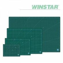 윈스타 PVC 녹색 450X300 A3  데스크 커팅매트
