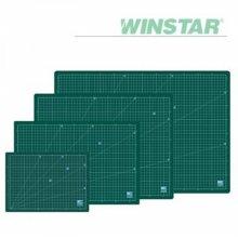 윈스타 녹색 630X440 데스크 고무 매트 (대)