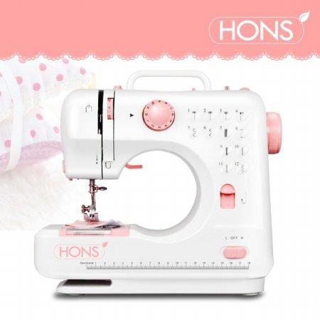 미니재봉틀 HSSM-1201(핑크) 한땀한땀 프로
