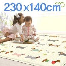 PVC 놀이방매트 230x140cm
