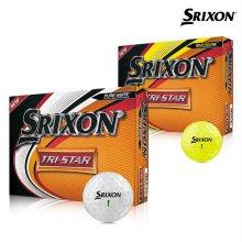 2019 스릭슨 트라이스타2 골프공 12알 화이트볼 옐로우볼 골프용품 필드용품 SRIXON TRI STAR GOLF BALL