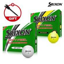 2019 스릭슨 소프트 필 11 골프공 12알 화이트볼 옐로우볼 골프용품 필드용품 SRIXON SOFT FEEL GOLF BALL