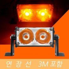 LED 작업등 써치라이트 COB 40W 해루질 Y 선 3m_s3B2ED5