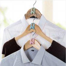 실속형 옷걸이 연결 후크 5개 1세트(색상랜덤)