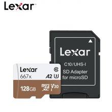 Lexar 영상 프리미엄 메모리 MicroSDXC 667x 128GB