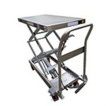 스텐 이단형 테이블 리프트 이동식 트럭 카트 TFD15S_3AE14B