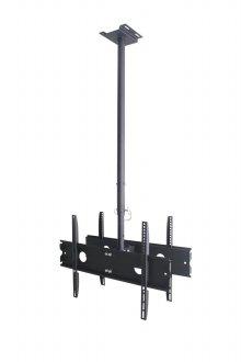 EZ-CB600B(L120-200) 천장형 브라켓 듀얼 거치대