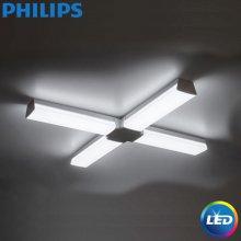 필립스 LED 31169 십자등,거실등,방등,white 1x55W 편리한 설치