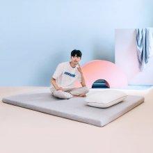 [단독 특가]메모리폼 푹신토퍼 침대 바닥 접이식 매트리스 Q