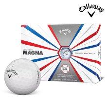 2019 캘러웨이 슈퍼소프트 매그나 골프공 12알 화이트 골프볼 CALLAWAY SUPER SOFT MAGNA BALL