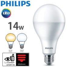 필립스 LED램프 14w 6500k 주광색 E26 해바라기 패턴 2019_NEW