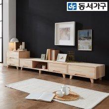 힐링히노끼 편백나무 2100 거실장세트 DF640844