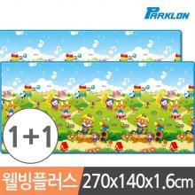 1+1 뽀로로음악대 웰빙플러스 놀이방매트 270x1.6cm_3F5AED