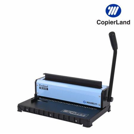 3:1 와이어링 제본기 ProBind W3133 개인/사무실 l 실속형 l 제본표지/와이어링 포함 l 소형 바인더/Binder l 스프링