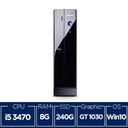 리퍼 초슬림 삼성데스크탑 DB400S2A 코어i5/8G/SSD240G/GT1030/Win10