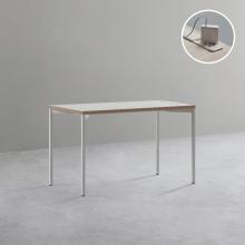 1인 노트북 책상 (빌트인 콘센트) 1200x600