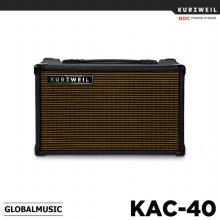 [견적가능] 영창 커즈와일 기타 앰프 KAC40 40와트 충전식앰프 KAC-40