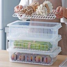 냉장고 채소 과일 신선보관 손잡이 커버형 채반트레이