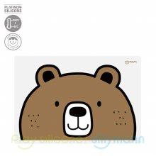 실리콘 어린이 식탁매트 WSB264 곰