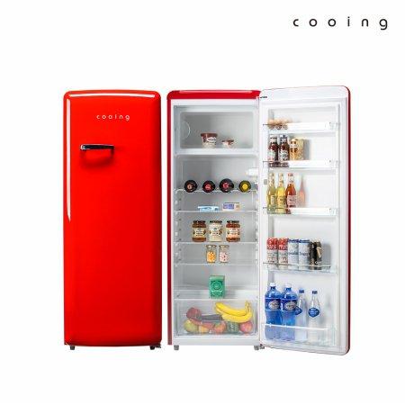 244L 레트로 냉장고 (레드) / REF-S240R