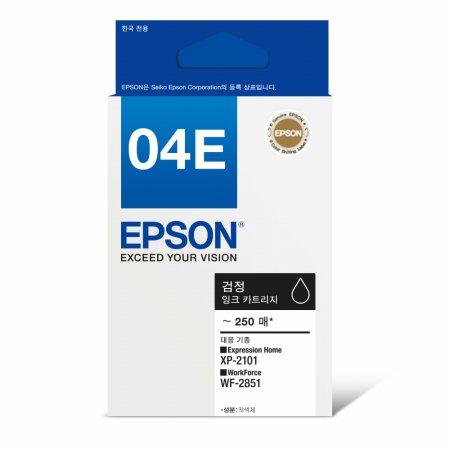 [정품]엡손 흑백/블랙잉크[T04E170][검정][250매/호환기종:XP-2101, WF-2851]