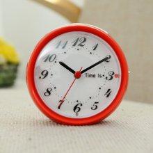 라운드 엣지 알람 탁상시계(레드) 시계
