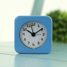 미니 스퀘어 알람 탁상시계 (블루) 시계