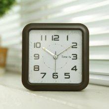 스퀘어 아트 알람 탁상시계 (블랙) 시계