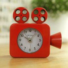 영사기 알람 탁상시계(레드) 탁상 시계