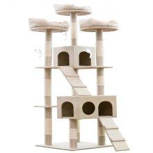 헬로망치 프리미엄 대형 고양이 직조 캣타워 HI8897
