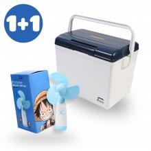 일본생산 12L 휴대 아이스 쿨러박스+원피스 선풍기