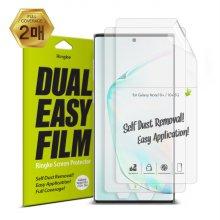 [무료배송쿠폰] 이지 갤럭시노트10 플러스용 풀커버 액정보호필름(2매입) ID Full Cover