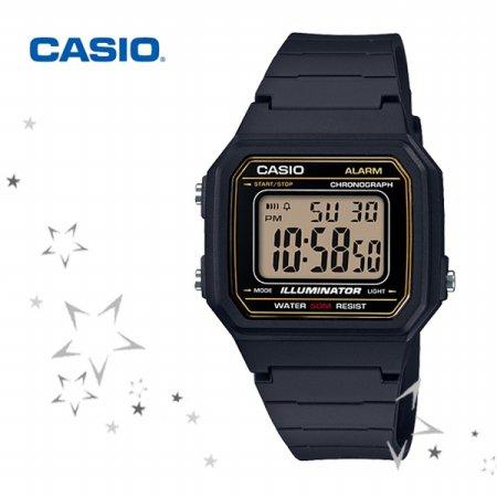 W-217H-9A 남성 우레탄 손목 시계
