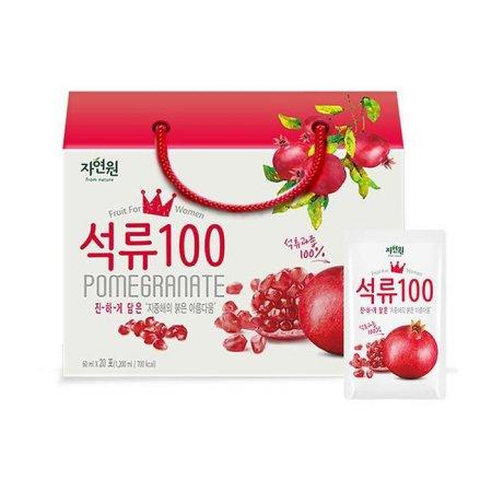 [자연원] 석류 100% (20포)