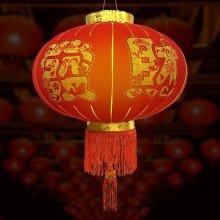 행운 대박복홍등 40cm 중국집 중국전통 인테리어 소품