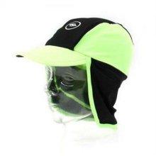 아동 어린이 물놀이 수영모자 플랩캡 모자 형광그린_3B6DE3