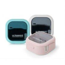 울트라 웨이브 UV-C LED 휴대용 칫솔 살균기(민트)