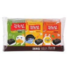 [광천] 카카오프렌즈 재래김 3봉 (16g)