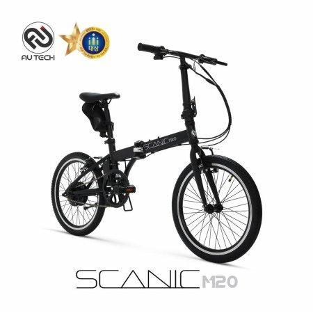 스카닉 M20 24V 5Ah 전기자전거 블랙