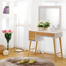 거울 서랍화장대 화이트 콘솔 원목화장대 거울화장대