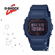 DW-5600BBM-2 남성 모노톤 컬러 스퀘어 시계