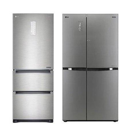 스탠드 3도어 김치냉장고[327L] + 양문형 냉장고[821L] 패키지