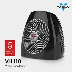 공기순환 PTC 히터 VH-110B [3단계 열량 조절 / 3중 안전장치]