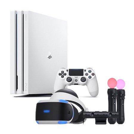 PS4 Pro 1TB[ 글레이셔화이트 ] & PS4 PlayStation VR MK4