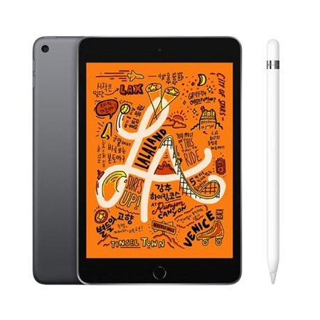 [패키지특별할인] 보호필름 증정) iPad mini 5세대 7.9 WIFI 256GB  스페이스 그레이 MUU32KH/A + 애플펜슬 1세대